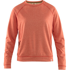 Fjällräven High Coast Lite Sweat-shirt de survêtement Femme, rowan red